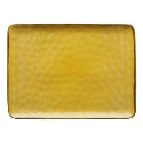 Concerto Rectangular tray, L36 x W26.5cm, Yellow