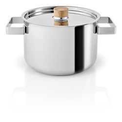 Nordic kitchen Pot, 3 Litre, stainless steel
