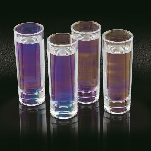 BarCraft Set of 4 shot glasses, 10.4cm, Lustre