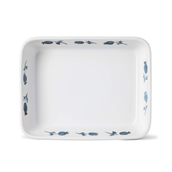 English Garden - Rose Hip Rectangular ovenware dish, 27.5 x 21.5cm