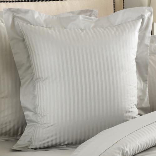 Millennia 1200TC Square pillowcase, 65 x 65cm, Silver