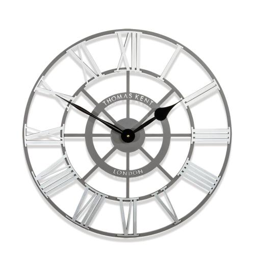 Evening star Wall clock, Dia61cm, Silver