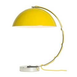 London Table light, H45 xW37cm, yellow