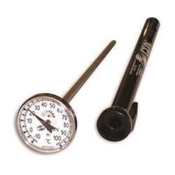 Pocket cooking thermometer