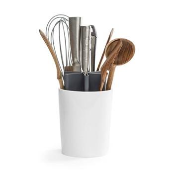 Angle Kitchen organizer, 13.5 x 13.5 x 22cm, shiny white/grey