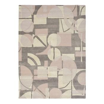 Segments Rug, 170 x 240cm, stone