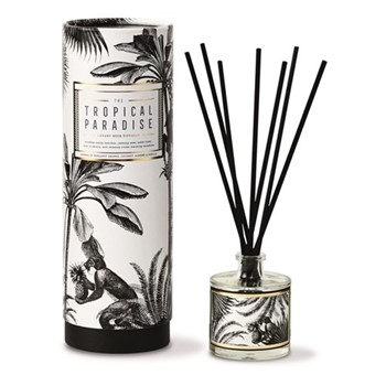 Tropical Paradise Luxury reed diffuser, H7.9 x Dia6.9cm