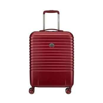 Caumartin plus 4-Double wheel slim cabin trolley case, 55cm, red
