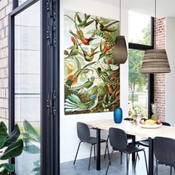 Art - Hummingbirds Wall decoration, 140 x 200cm