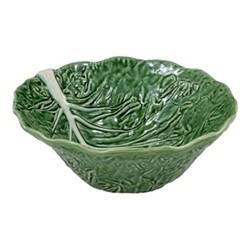 Cabbage Deep salad bowl, 29 x 12cm, green