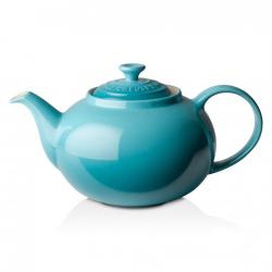 Stoneware Classic teapot, 1.3 litre, Teal