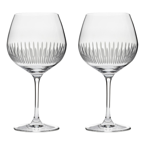 Glacier Pair of gin glasses, 610ml, Crystal