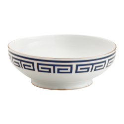 Labirinto Salad bowl, 26.5cm, Zaffiro