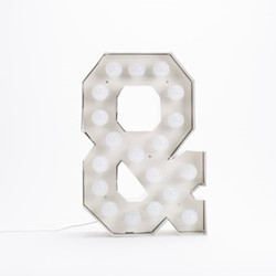 Vegaz & Letter light, H60cm