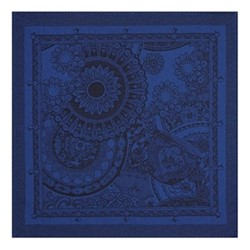 Porcelaine Set of 4 napkins, 58 x 58cm, china blue