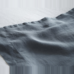 Super king size flat sheet, 300 x 270cm, Toulon Dove Grey