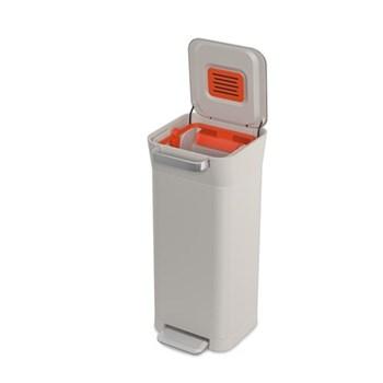 Titan Trash compactor, 30L, stone