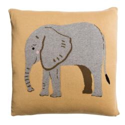 ZSL Elephant Cushion, L50 x W50cm, Multi