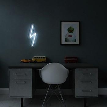 The Mini Bolt Neon light, W15 x L50cm, white