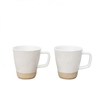 Kivi Pair of mugs, 9 x 9.5cm