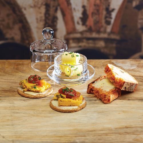 Mini butter cloche, 5 x 9cm, Glass