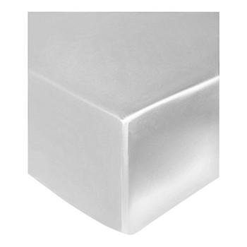 Signature King size fitted sheet, 150 x 200 x 35cm, white