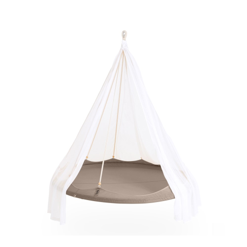 Nomad TiiPii bed, 150 x 150 x 178cm, Taupe