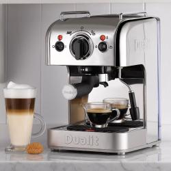 3 in 1 Coffee machine, Polished Chrome