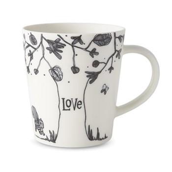 Ellen DeGeneres Mugs - Love Tree Mug