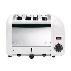 Classic Bun toaster, 4 slot, white
