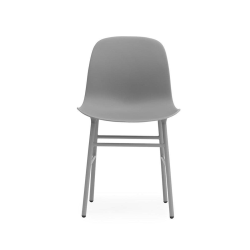 Form Dining chair, L48 x H80 x D52cm, Grey