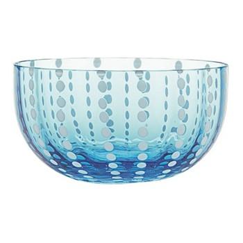 Perle Set of 6 bowls, 38cl, aquamarine