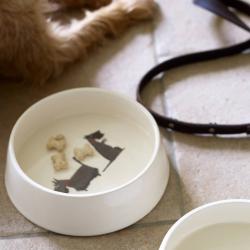 Mans's Best Friend Dog bowl, D18 x H6cm, Scottie