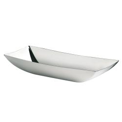 Linea Q Bread basket, stainless steel