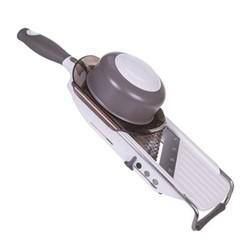Professional hand mandolin, 30.5 x 13.7 x 38.7cm, grey