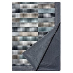 Beadle Grey Pinstripe Throw, 215 x 115cm, beadle grey