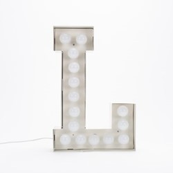 Vegaz L Letter light, H60cm