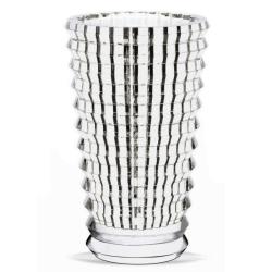 Eye Round vase, 24cm, clear