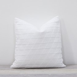 Stockholm Cushion, 50 x 50cm, white