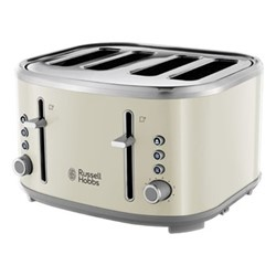 Bubble - 24411 Toaster, 4 slice, cream