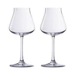 Pair of red wine tasting glasses H47cm - 39cl
