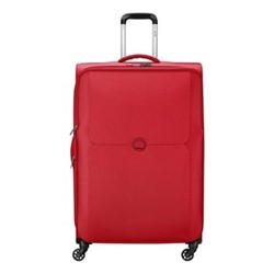 Mercure 4 wheel expandable trolley case, 79cm, red