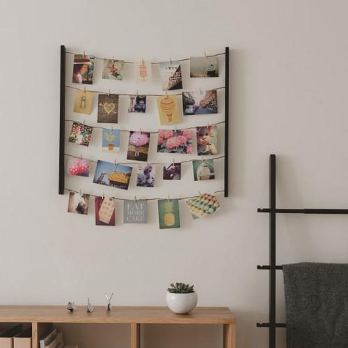 Hangit Photo display, 76 x 66 x 4cm, Black