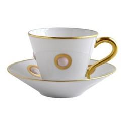 Ithaque Espresso cup, H7cm, rose/gold
