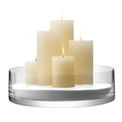 Bowl/candleholder 35cm