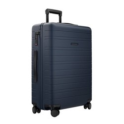 H6 Medium check-In trolley suitcase, W46 x H64 x D24cm, night blue