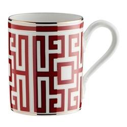 Labirinto Mug, 40cl, scarlatto