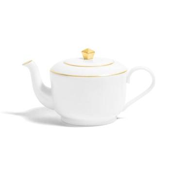 Line - Colour Small teapot, H8.5cm - 300ml, metallic gold