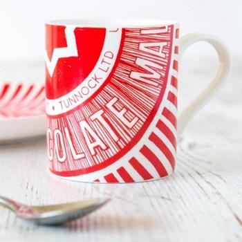 Tunnocks Teacake Wrapper Mug, 8.5 x 9cm