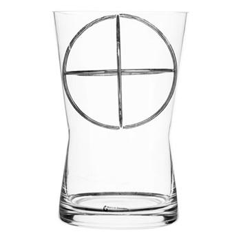 Sphere Medium vase, Dia14.5 x 22cm, stainless steel